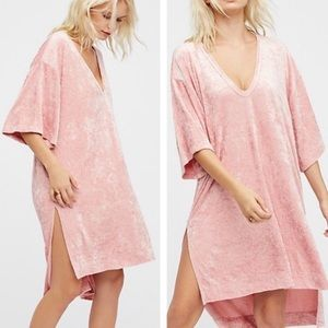 BNWT Free People Passion Flower Pink Dress